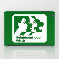 the neighbourhood iPad Cases featuring Neighbourhood Witch by Crank Institute