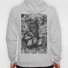 AnimalArtBW_Chimpanzee_20170603_by_JAMColorsSpecial Hoody