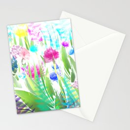 Floral abstract 82 Stationery Cards