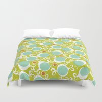 candy Duvet Covers featuring candy by ottomanbrim