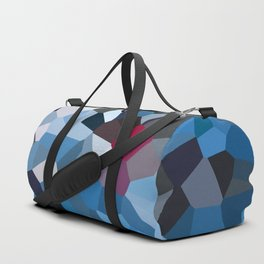 Sapphire Periwinkle Blue Moon Love Duffle Bag