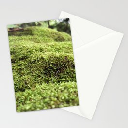 Moss forest 2 Stationery Cards