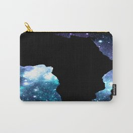 AFRICA : Teal Violet Galaxy Carry-All Pouch
