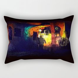 Ill-Fated Entry Rectangular Pillow