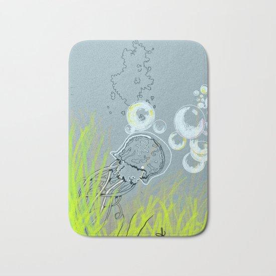 Squid Redone Bath Mat