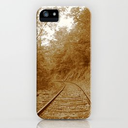 Old Steel Highway iPhone Case