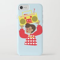transistor iPhone & iPod Cases featuring Trini Transistor  by The Pairabirds