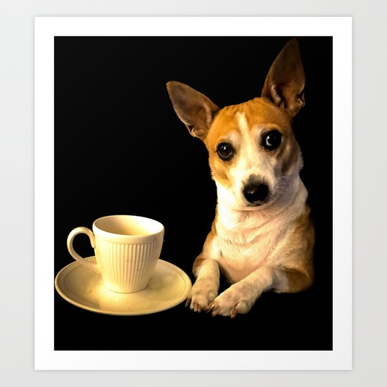 Tea Time with Puppy by brianwilliamclayton