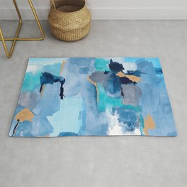 Summer Sky Abstract Rug