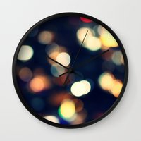 lights Wall Clocks featuring Lights  by sasan p