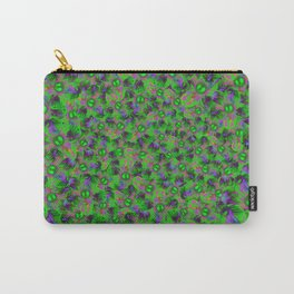 Abstract sewn flowers Carry-All Pouch