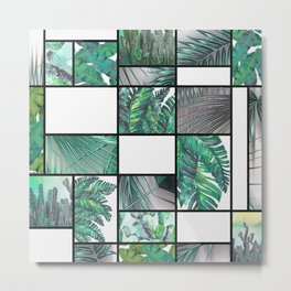 cool tropic Metal Print