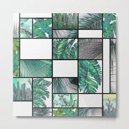 cool tropic Metal Print