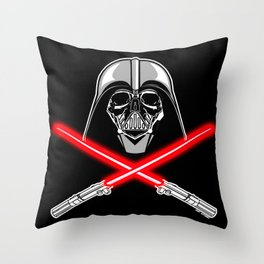 Vader's Bones Throw Pillow