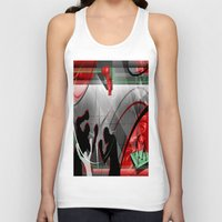 boxing Tank Tops featuring Boxing by Robin Curtiss
