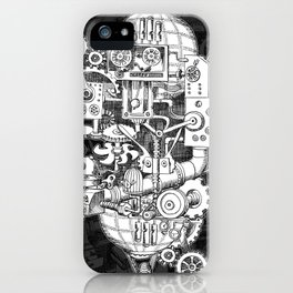 Hungry Gears iPhone Case