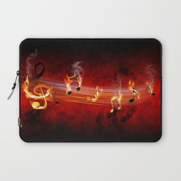 Hot Music Notes Laptop Sleeve