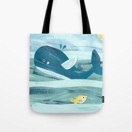 Big Whale Tote Bag