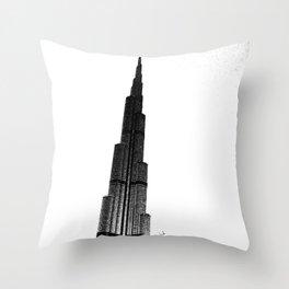 Dubai Throw Pillow