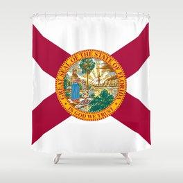 Flag of Florida Shower Curtain