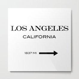 Los Angeles - California Metal Print