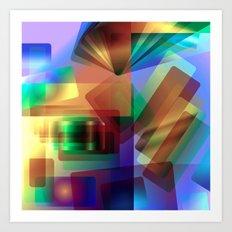 Alluvial Flare Art Print