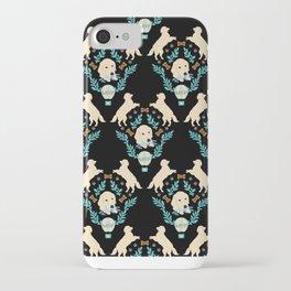 Cute Golden Retriever iPhone Case
