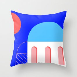 Grecia II Throw Pillow