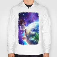 constellation Hoodies featuring Constellation by J ō v