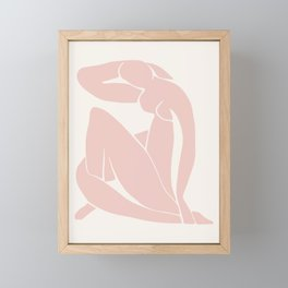 Matisse Print, Henri Matisse, Matisse Poster, Matisse Art,Matisse Cut Out, Fine Art Print, Female Nu Framed Mini Art Print