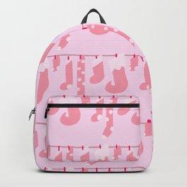 Holiday Socks in Sugar Plum Fairy Backpack