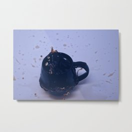 I'm not addicted to coffee, we are just in a commited relationship Metal Print