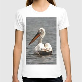 The Sea Breeze Blows The Pelican Where He Wants To Go T-shirt