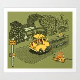 S-Car-Go! Art Print