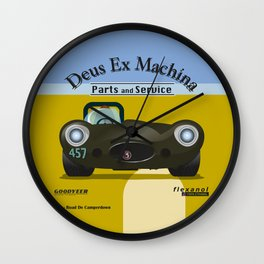 Deus Ex Machina Wall Clock