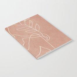 Engraved Nude Line II Notebook