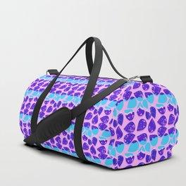 Echo Pattern | Pink&Blue Duffle Bag