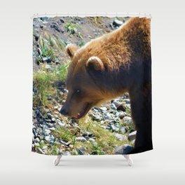 Griz - Wildlife Art Print Shower Curtain