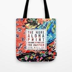 Aloha Print Life Tote Bag