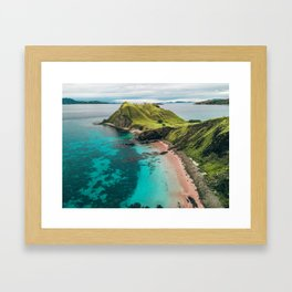 Window To Flores, Indonesia - Drone Fine Art Print Framed Art Print