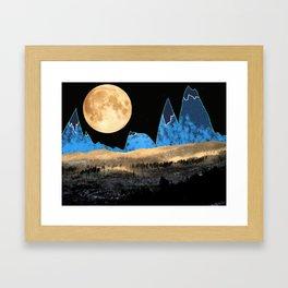 Macaroni Moon Framed Art Print