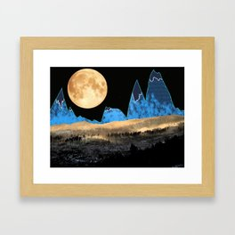 Macaroni Moon Framed Art Print