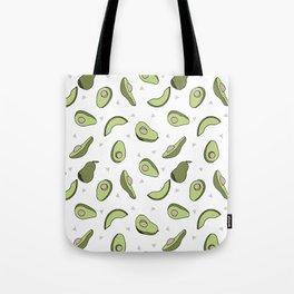 Avocado pattern by andrea lauren minimal cute fruit vegetable food print design Tote Bag