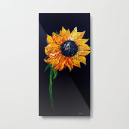 Sunflower Outburst Metal Print