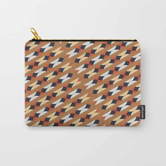 Crooked Letter, Crooked Letter Series - Pattern 1 Carry-All Pouch