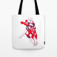 my mad fat diary Tote Bags featuring Fat Drift by riotbreaker