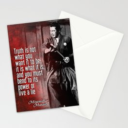 Misashi Samurai - The Truth Stationery Cards