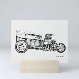 1923 F0RD T-Bucket Side View Mini Art Print