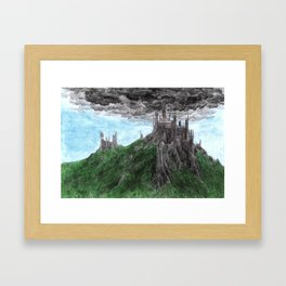 Dol Guldur Framed Art Print