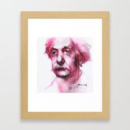Albert Framed Art Print